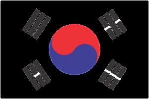 south koreea flag