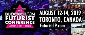 blockchain futurist conference 2019
